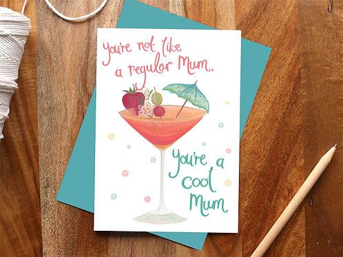 """Cool Mum"" - Mean Girls inspired card"