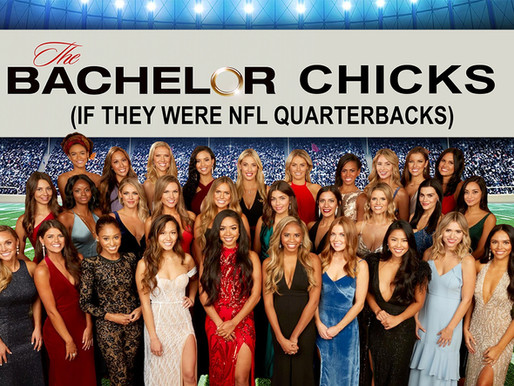 The Chicks From The Bachelor If They Were NFL Quarterbacks