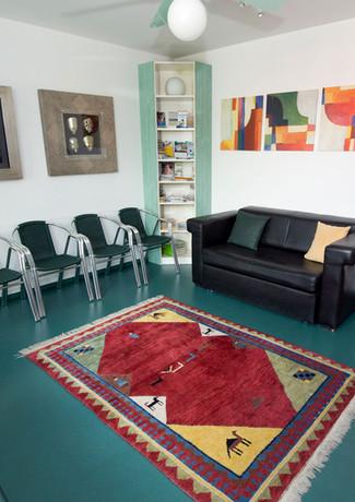 Wartezimmer Praxis Dr. Naber