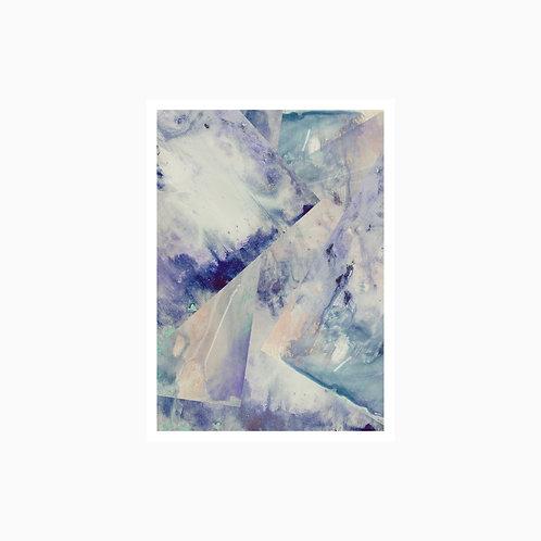 Fine Art Print | Geometrics Blue