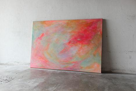 Isabel Edsperger_Acrylbild_neon Pink.jpg