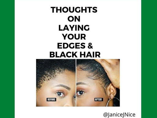 Laying Your Edges; an Act of Assimilation?