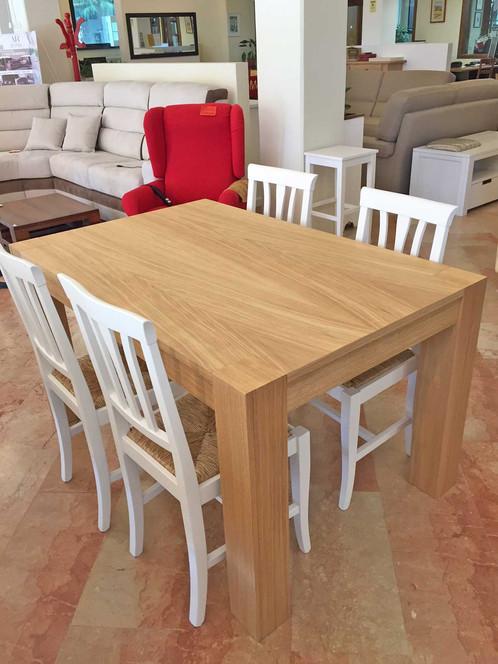 TVR036 - Tavolo rovere naturale | Rudiana - mobili e arredamento ...