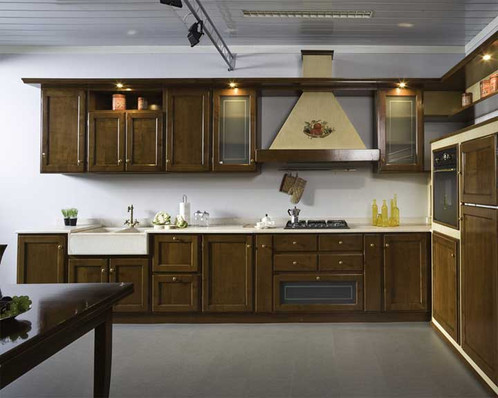 CU003 - Cucina Ciliegio | Arredamento | Bassano del Grappa | Rudiana srl