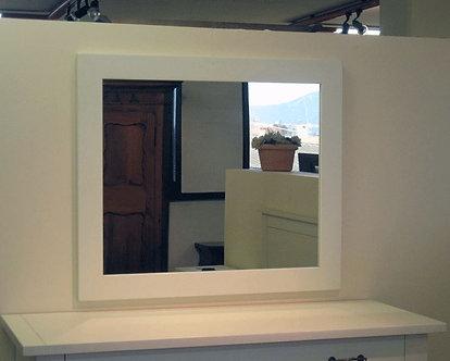SP045 - Specchio bianco laccato