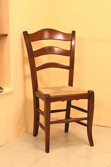 LQC054 - Sedia in noce mod. contadina