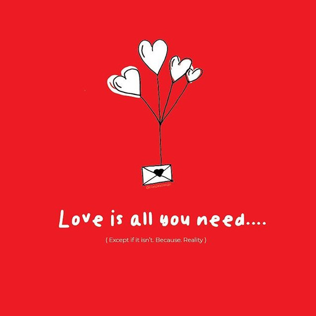 Does the whole 'Love is all you need' ma