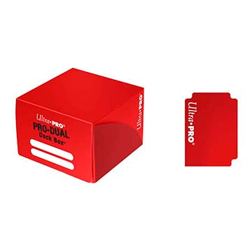 Deck Box Ultra Pro - Pro Duel Holds 180 cards Red