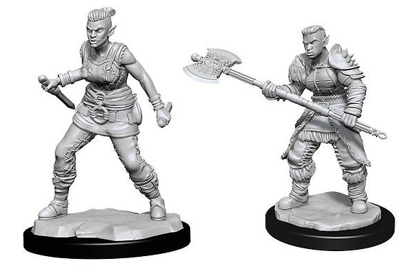 Orc Barbarian ( Female ) - D&D Nolzurs Marvelous Miniatures