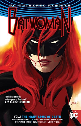 Batwoman (Rebirth) Vol 1 The Many Arms of Death