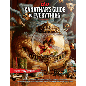 Books - Dungeons & Dragons Xanathars Guide to Everything