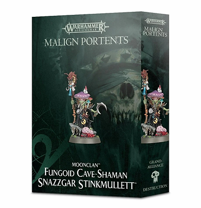 Age of Sigmar - Moonclan - Fungoid Cave Shaman Snazzgar Stinkmullett