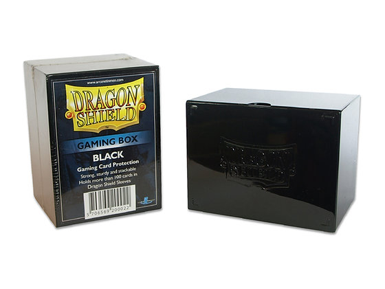 Deck Box Dragon Shield - StrongBox Black