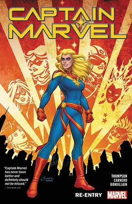 Captain Marvel Vol 1 - Re-entry
