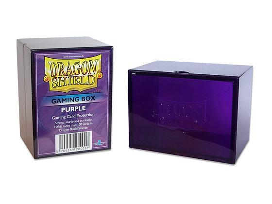 Deck Box Dragon Shield - StrongBox Purple