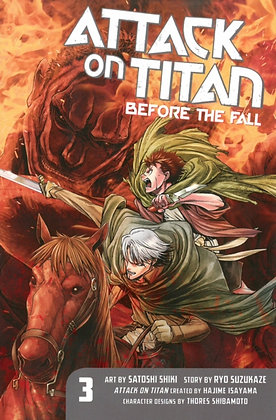 Attack On Titan - Before the Fall Vol 03