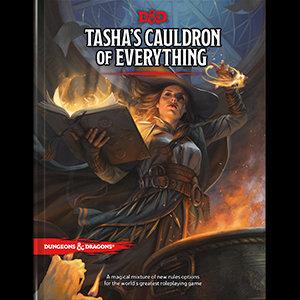 Books - Dungeons & Dragons Tasha's Cauldron of Everything