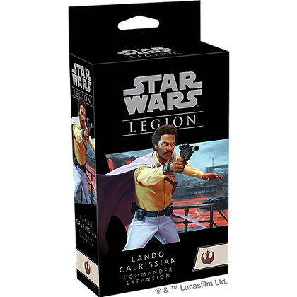 Star Wars Legion - Rebel - Lando Calrissian Commander Expansion