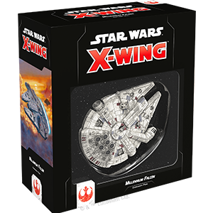 X Wing Rebel - Millennium Falcon