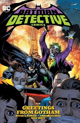 Batman Detective Comics (Rebirth) Volume 3 Greetings from Gotham