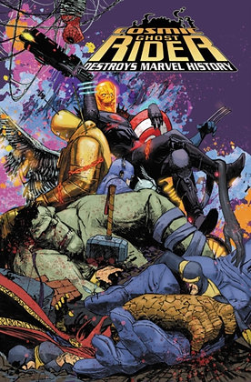 Ghost Rider, Cosmic. Destroys Marvel History