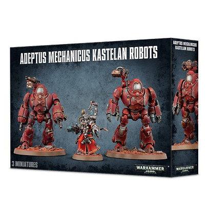 Adeptus Mechanicus - Kastelan Robots