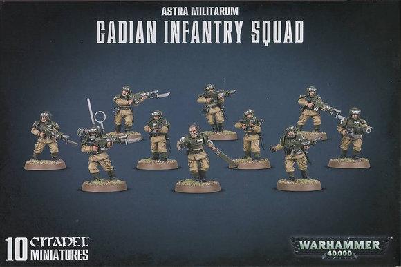 Astra Militarum - Cadian Infrantry Squad