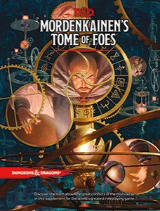 Books - Dungeons & Dragons Mordenkainen's Tome of Foes