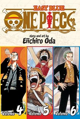 One Piece (Omnibus Edition), Vol. 2 : Includes vols. 4, 5 & 6