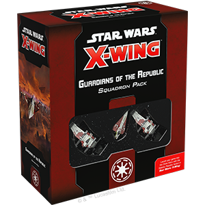 Star Wars X wing Galactic Republic - Guardians of the Republic Squadron Pack