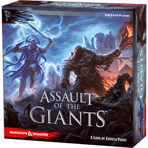 Assault of the Giants - A Dungeons and Dragons Board Game