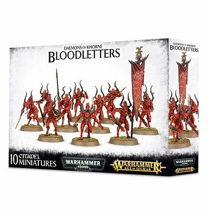 Demons of Khorne - Bloodletters