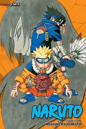 Naruto (3-in-1 Edition), Vol. 3 : Includes vols. 7, 8 &9