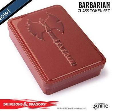 Dungeons and Dragons Token set - Barbarian