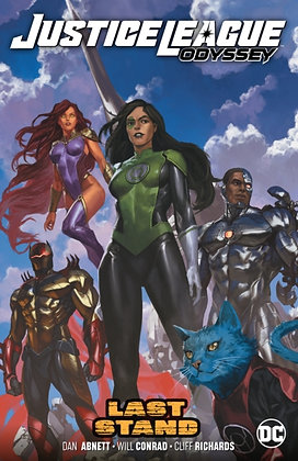 Justice League Odyssey Vol 4 Last Stand