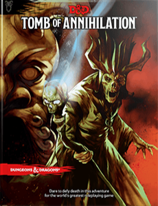 Books - Dungeons & Dragons Tomb of Annihilation