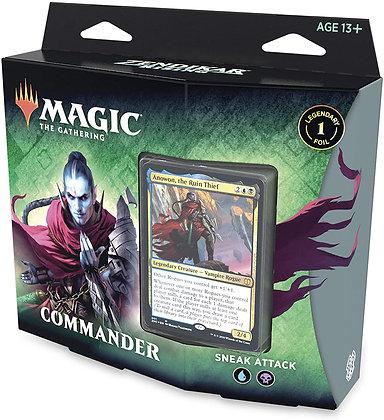 Magic the Gathering Zendikar Rising Commander deck - Sneak Attack