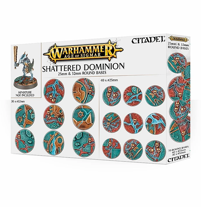 Citadel - Round Bases - Shattered Dominion ( Sigmar )