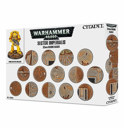 Citadel - Round Bases - Sector Imperialis ( 40K )