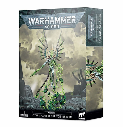 Necrons - C'tan Shard of the Void Dragon