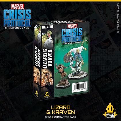 Marvel Crisis Protocol - Lizard and Kraven