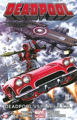 Deadpool (2012) Vol 4 - VS shield