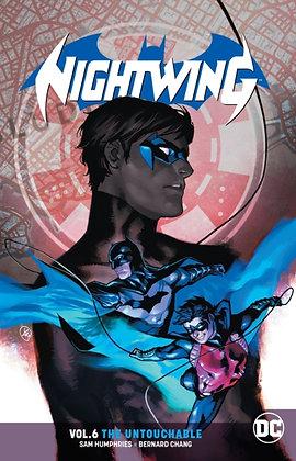 Nightwing Rebirth Vol 06 - The Untouchable