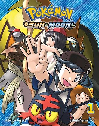 Pokemon Sun and Moon Vol 01 (Manga)