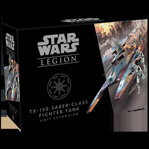 Star Wars Legion - Galactic Republic - TX 130 Saber Class Fighter Tank