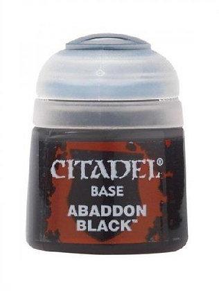 Base - Abaddon Black 12ml