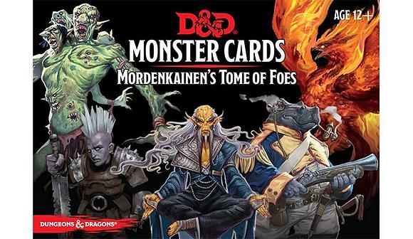 D&D Monster Cards - Mordenkainen's Tome of Foes