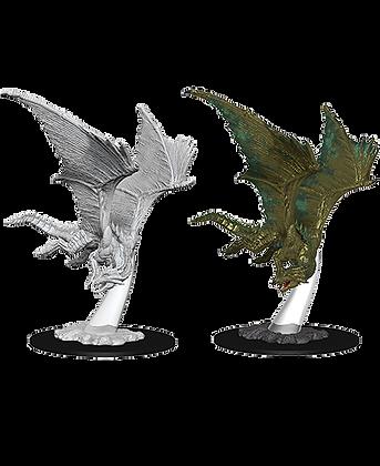 Dragon, Young Bronze - D&D Nolzurs Marvelous Miniatures