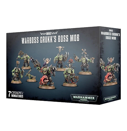 Orks - Warboss Grukk's Boss Mob
