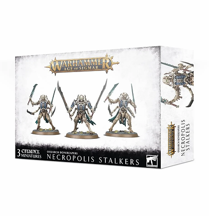 Age of Sigmar- Ossiarch Bonereapers - Necropolis Stalkers